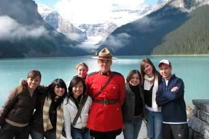 カナダ学生