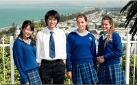 Taradale High School students